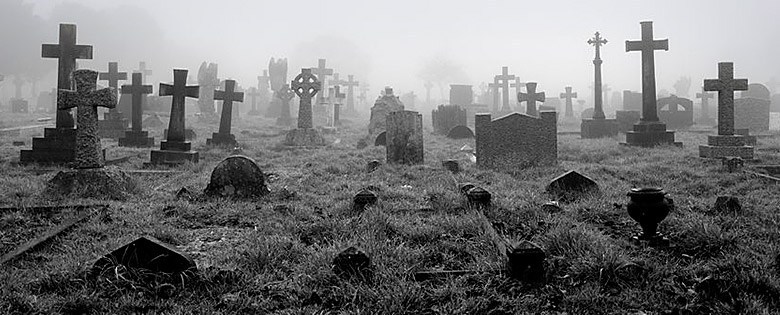 Old Graveyard - RIP Static HTML Website